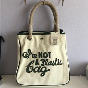 9d7ea15c7506 Anya Hindmarch Bags - Anya hindmarch I am not a plastic bag